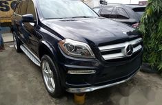 Sell cheap blue 2013 Mercedes-Benz GL550 automatic at mileage 1