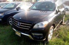 Mercedes Benz ML 2012 Black for sale