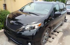 Authenticused 2013 Black Toyota Sienna for sale at price ₦6,470,000