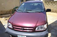 Toyota Sienna 2001 Red for sale