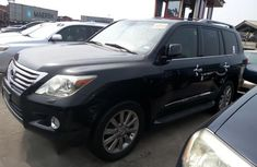 Lexus LX570 2009 Black for sale