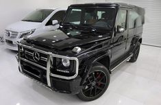 Used black 2016 Mercedes-Benz G63 automatic for sale at price ₦47,000,000