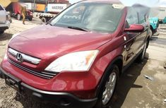 Honda CR-V EX 4WD Automatic 2009 Red for sale