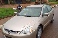 New Honda Accord 2004 Gold for sale