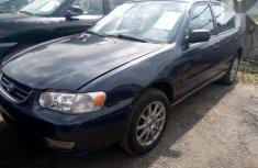 Sell well kept blue 2001 Toyota Corolla sedan automatic