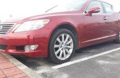 Lexus LS 2010 460 L Red for sale