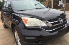 Sell used black 2010 Honda CR-V suv at cheap price