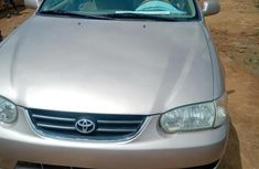 Toyota Corolla 1999 Automatic Gold for sale