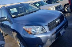 Clean and neat used 2007 Blue Toyota RAV4 suv in Ughelli at cheap price