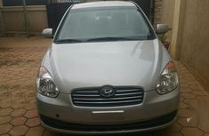 Used 2010 Silver Hyundai Accent sedan automatic for sale in Abuja