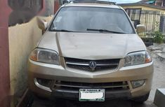 Used gold 2003 Acura MDX car automatic at attractive price