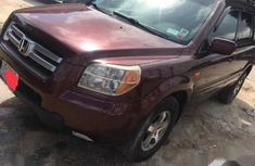 Honda Pilot 2007 EX 4x4 (3.5L 6cyl 5A) Red for sale