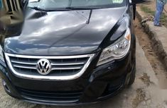 Best priced used 2009 Black Volkswagen Routan automatic in Ibadan