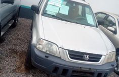Grey 2002 Honda CR-V automatic at mileage 123,456 for sale in Lagos