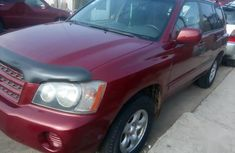 Sparkling cheap used 2004 Toyota Highlander automatic at mileage 144,215