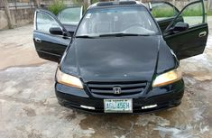 A Clean 2001 Honda Accord