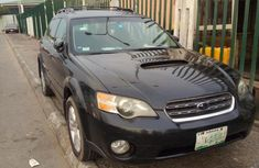 Selling 2005 Subaru Outback at mileage 112,000 in good condition in Lagos