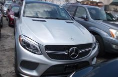 Sell cheap grey 2017 Mercedes-Benz GLE automatic in Lagos