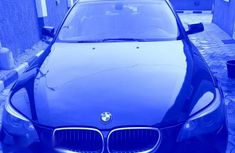 Blue 2006 BMW 525i automatic at mileage 73,000 for sale