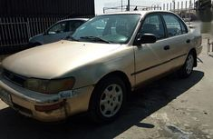 Authenticused 1996 Toyota Corolla for sale at price ₦390,000