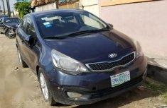 Sell blue 2014 Kia Rio sedan automatic in Lagos
