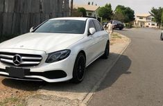 Sell white 2017 Mercedes-Benz E300 sedan automatic