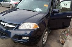 Blue 2005 Acura MDX at mileage 100,000 for sale in Lagos