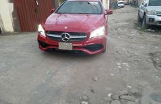 Sell well kept red 2018 Mercedes-Benz CLK sedan automatic
