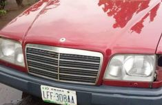 Sell cheap red 1992 Mercedes-Benz 230E at mileage 1,222,415 in Ilorin