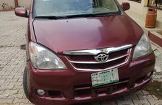 Red 2008 Toyota Avanza for sale at price ₦680,000 in Lagos