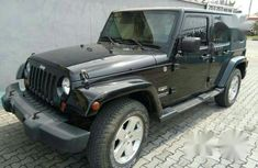 Used black 2010 Jeep Wrangler automatic for sale at price ₦4,900,000