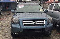 Selling blue 2007 Honda Pilot suv  automatic in Lagos