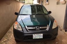 Green 2003 Honda CR-V car suv  automatic in Lagos