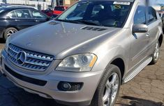 Need to sell cheap used grey2008 Mercedes-Benz ML350 suv automatic