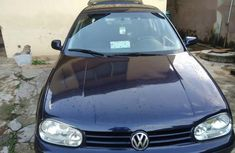 Volkswagen Golf 2001 1.6 Automatic Blue for sale