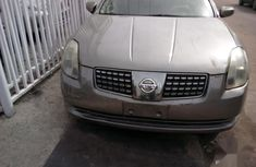 Very sharp neat used 2004 Nissan Maxima automatic for sale in Lagos