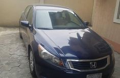 Very sharp neat blue 2010 Honda Accord for sale in Port Harcourt