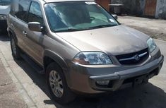 Sharp gold 2004 Acura MDX suv automatic for sale