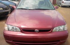 Clean Toyota corolla 2000 model for sale
