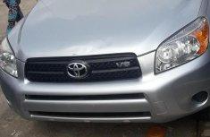 Toyota RAV4 2007 Silver for sale