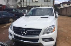 Selling 2015 Mercedes-Benz ML350 in good condition at mileage 38