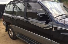 Lexus LX 2006 470 Sport Utility Black for sale