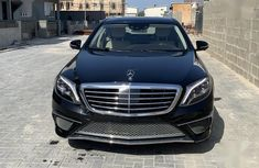 Clean and neat black 2014 Mercedes-Benz S550 for sale