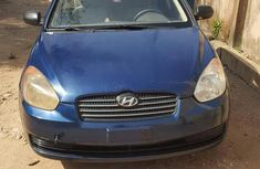 Best priced used blue 2008 Hyundai Accent at mileage 83,400