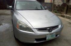 Honda Accord 2003 Automatic Silver color for sale