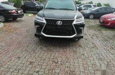 Lexus LX 2017 Black for sale
