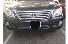 Lexus LX570 2011 Black for sale