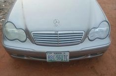 Super Sharp Mercedes Benz C240 2004 Gray for sale