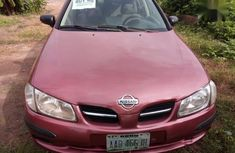 Nissan Almera 2003 Red for sale