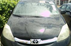 Toyota Sienna 2008 XLE Limited 4WD Black color for sale